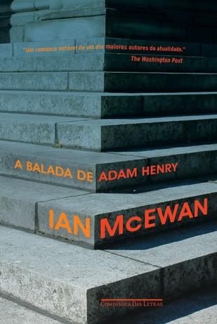 Capa do último romance de Ian McEwan (Divulgação)