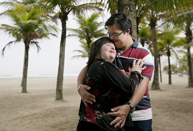 Arthur e Ilka se casaram no final de 2012, através de um contrato particular de união estável (Foto: Fabrio Braga/Folha press)