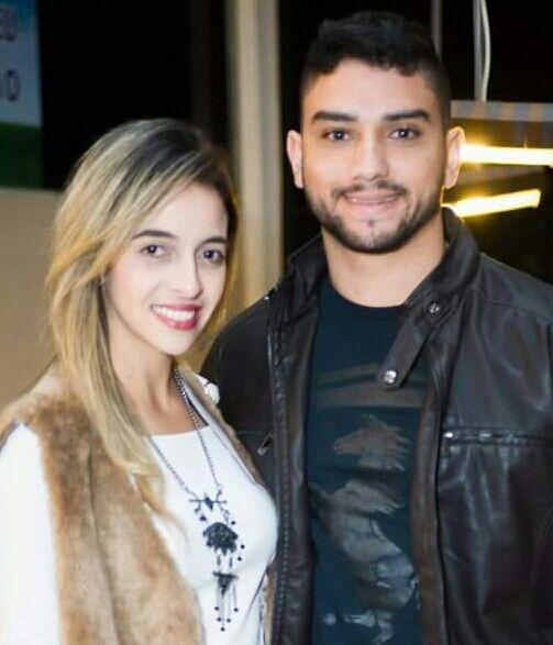 Anielly Praes e Lucas Almeida